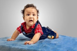 Baby with sensory integration challenges